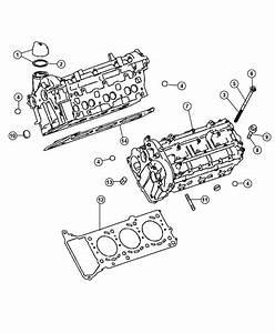 2008 Dodge Sprinter 3500 Gasket  Cylinder Head  Left