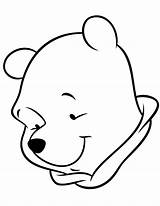 Coloring Simple Pages Colouring Pooh Winnie Easy Cliparts Fun Printable Bears Standing Clipart Stencils Drawing Library Face Related Clip Coloringkids sketch template
