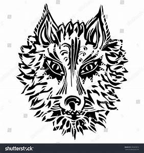 Wolf Symbol Loyalty Strength Stock Vector 246469672 ...
