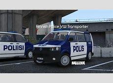 Finnish Police Poliisi Volkswagen Transporter GTA5