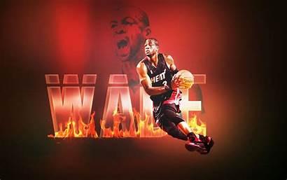 Wade Dwyane Heat Miami Wallpapers Dwayne Pixelstalk
