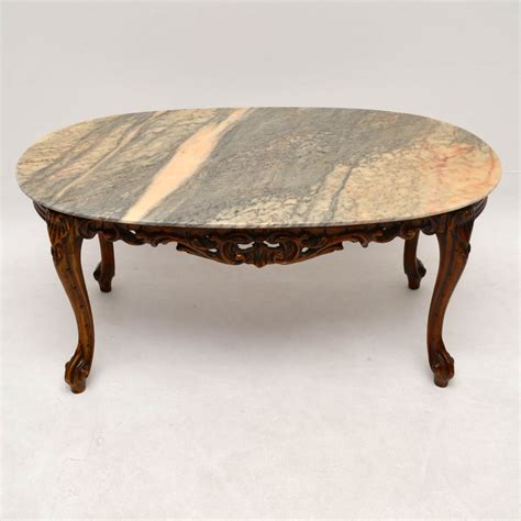 antique coffee table for style marble top coffee table la60316 7468