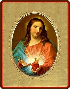 Sacred Heart of Jesus - Table-top and hanging icon