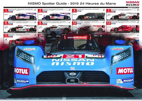Lemans 2015 Spotters Guide