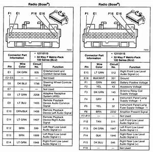 Buick Regal Radio Wiring Diagram
