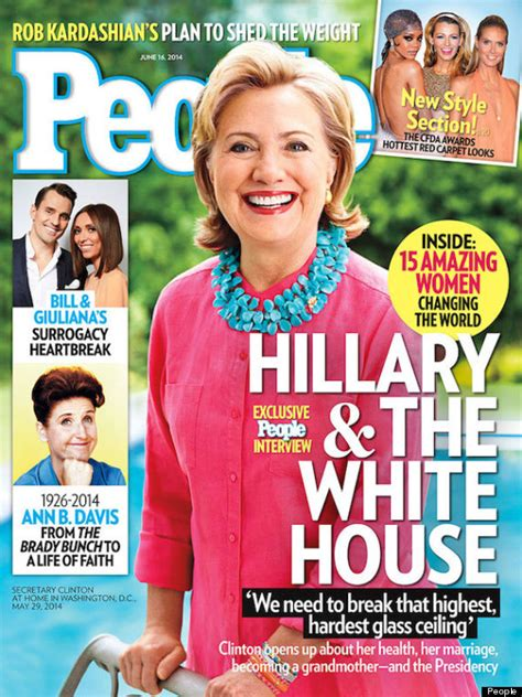 Hillary Clinton Cover by The Best And Worst People Magazine Covers Of 2014 Huffpost