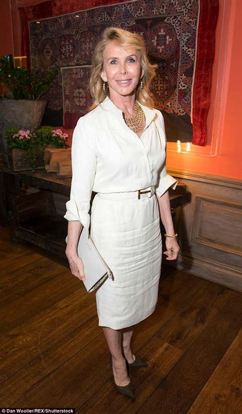 stings wife trudie styler  chic  white   joins