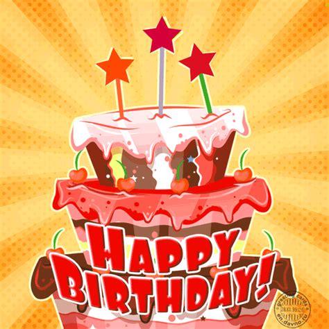 animated birthday cake card   davno