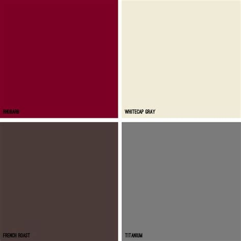 gray color schemes red color schemes kitchens and living rooms on pinterest
