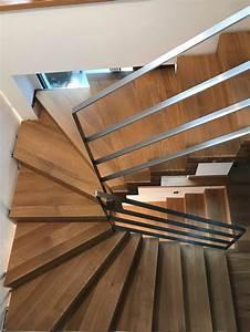 Handlauf Für Treppe : die besten 25 halbgewendelte treppe ideen auf pinterest wendeltreppen bodentreppe und ~ Markanthonyermac.com Haus und Dekorationen
