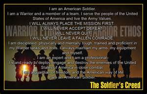 Army Soldiers Creed