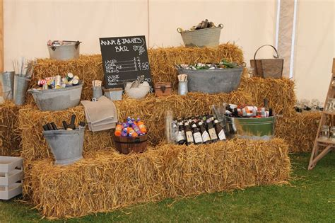 Hire Hay & Straw Bales For Seating, Weddings, Corporate ...