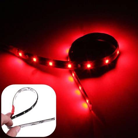 wheel  led lights red car truck kit  bright led strip