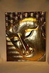 Buddha Bild Aus Holz EBay