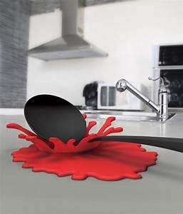 Accessoire Cuisine Design : ustensiles de cuisine design claboussure splash ~ Teatrodelosmanantiales.com Idées de Décoration