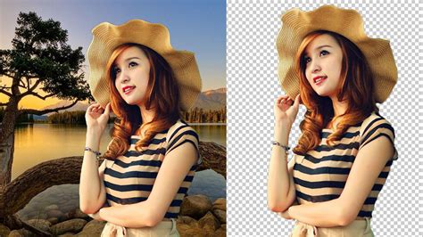 remove background  image  adobe photoshop cs