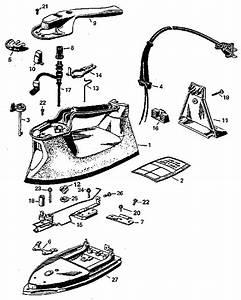 Kenmore Iron Parts