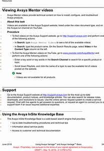Avaya K155 Ip Phone User Manual Using Avaya Vantage And