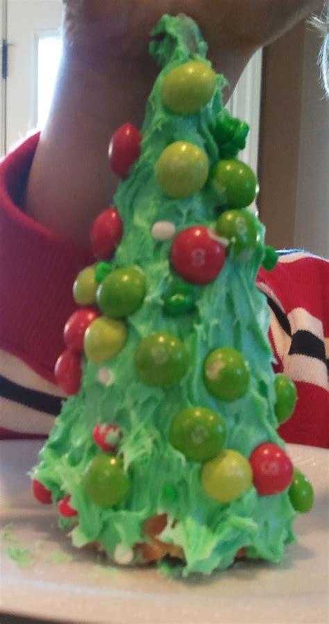 edible christmas tree christmas pinterest