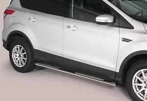 Ford Kuga Tuning Shop : paar designschweller oval mit aluauflagen ford kuga bis ~ Kayakingforconservation.com Haus und Dekorationen