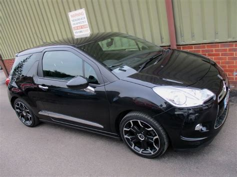 Citroen Ds3 For Sale by Used Metallic Black Citroen Ds3 For Sale Berkshire