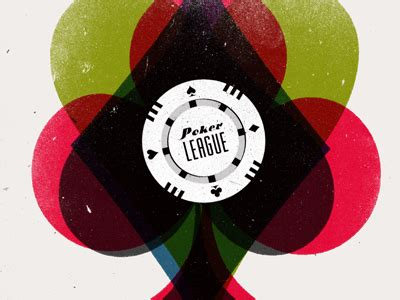 poker league poster layout graphic design logo poster