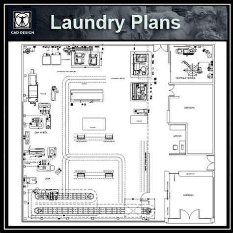 floor plan layouts laundry plans cad design free cad blocks drawings details