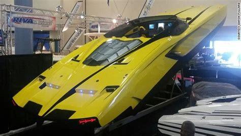 Lamborghini Tender Boat by The Lamborghini Yacht Yachting Magazine