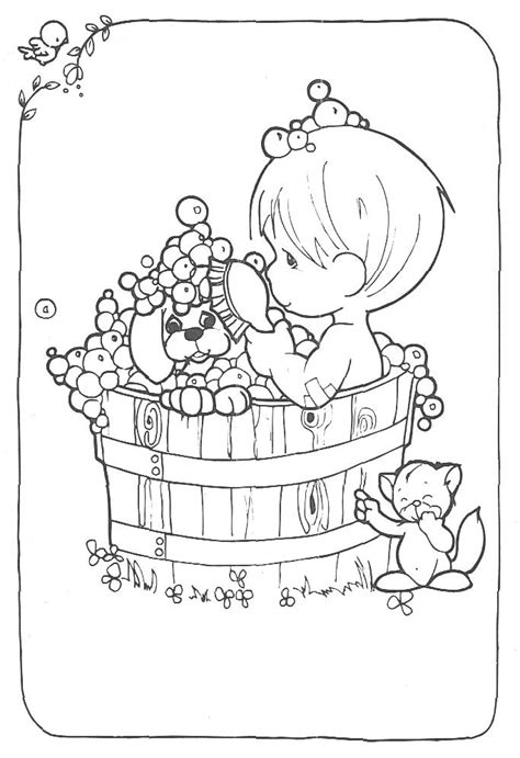 precious moments boy  girl coloring pages coloring home