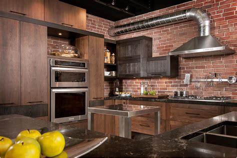 loft cuisine bois noyer frene quartz