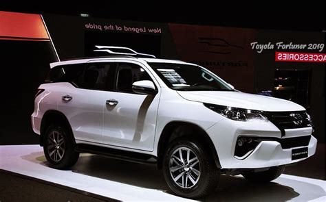 Toyota Fortuner 2019 by 2019 Toyota Fortuner Rumor Price Release Date Cars
