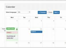Vue Bootstrap Calendar Component Vuejs Script