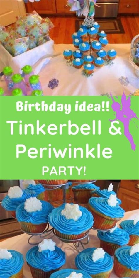 foto de Tinkerbell & Periwinkle Birthday Party