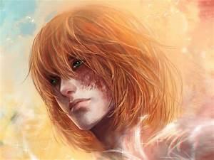 Rote Haare Grüne Augen : rote haare fantasie m dchen gr ne augen sterne himmel hintergrundbilder 1024x768 ~ Frokenaadalensverden.com Haus und Dekorationen
