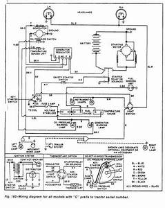 Ford 1000 Series C Wiring Diagram  With Images