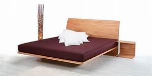 Bett Holz Dunkel : luxlet metallfreie holzbetten designbett in holz ~ Markanthonyermac.com Haus und Dekorationen