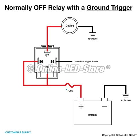 four pin relay wiring diagram all diagram schematics