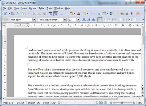 review libreoffice productivity suite  office
