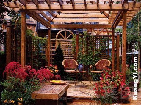 Interior Decoration In Home - 露台花园装饰 易禾庭园入户露台花园花园设计 03图片 况艺装修图片