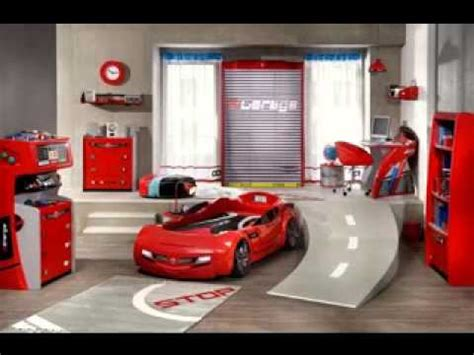 Race Car Bedroom Decorating Ideas Youtube