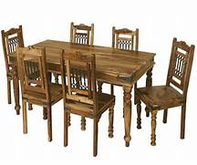 Dining Table With Six Chairs by Jali Dining Table 6 Chairs