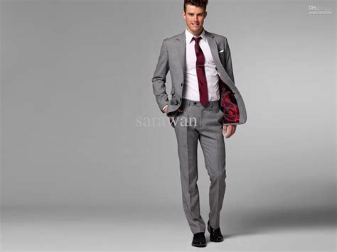 Images For> Grey Wedding Suits For Men
