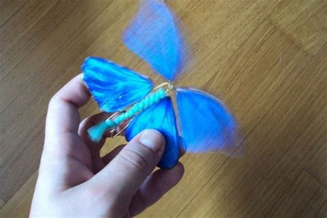 wind  paper butterfly  paper model creation