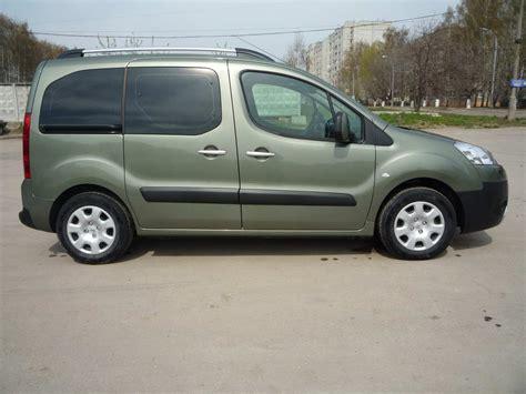2009 Peugeot Partner Tepee Pictures 16l Gasoline Ff