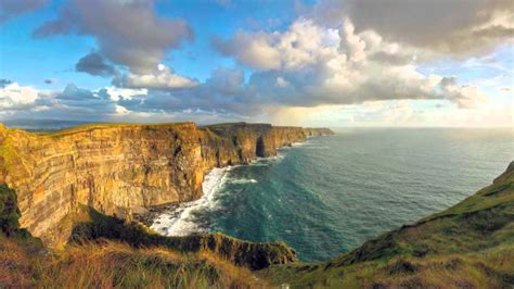 cliffs  moher ireland photographs   visit youtube