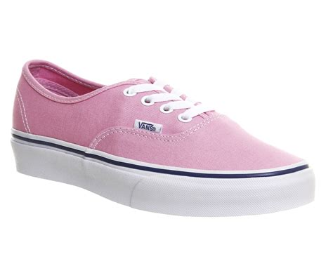 vans authentic prism pink unisex sports