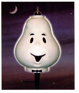 Halloween outdoor ghost lamppost lampshade cover yard