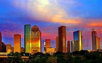 Skyline Houston Wallpapers Pixelstalk
