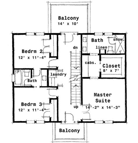 colonial house floor plans plan 44045td center colonial house plan narrow lot