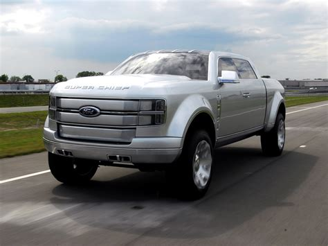 future ford trucks ford super chief concept truck